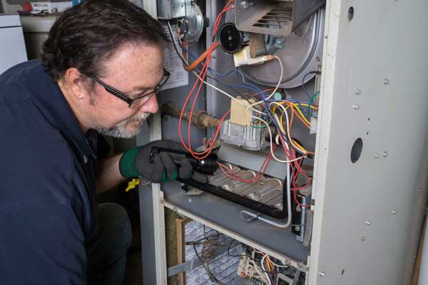 We repair and maintain forced air furnaces in Green Bay, Wi